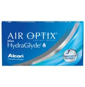 Air Optix plus Hydraglyde  - 6 soczewek